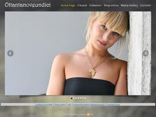 8911 Gioielli bijoux - Collane, anelli, fedine, orecchini e bracciali