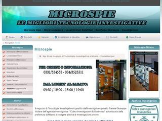 Microspie e Tecnologie Investigative