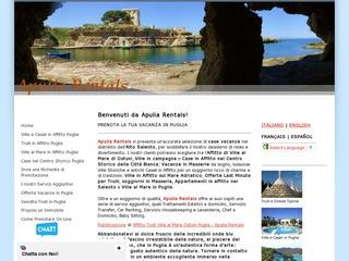 Apulia Rentals Affitto Trulli Ostuni Ville in Affitto in Puglia