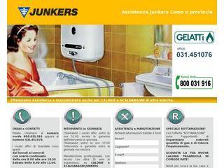 Assistenza Junkers Como - Gelatti srl