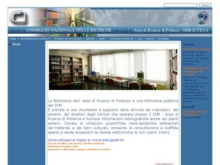 Consiglio nazionale delle ricerche. Biblioteca dell'Area di ricerca di Potenza