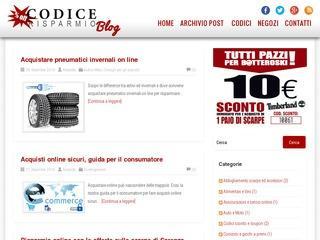 Blog CodiceRisparmio