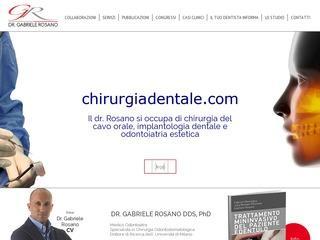 Dottor Gabriele Rosano