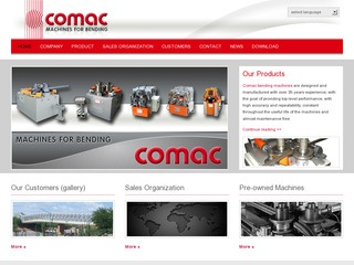 Comac Machines for Bending