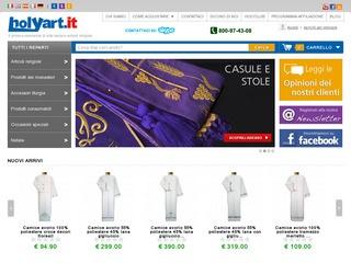 Holyart e-commerce oggetti sacri