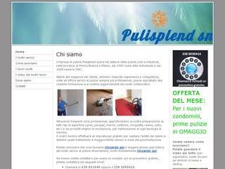 Pulisplend, impresa di pulizie civili e industriali Monza Brianza e Milano