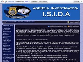 Investigazioni private ISIDA Siracusa agenzia investigativa Siracusa ISIDA