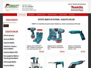 Makita vendita online di utensili elettrici e a batteria – Orait Torino