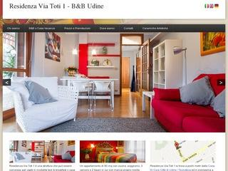 Bed and Breakfast Udine Residenza Via Toti 1