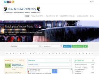 SEO & SEM Directory recensioni di siti web Italiani di qualità
