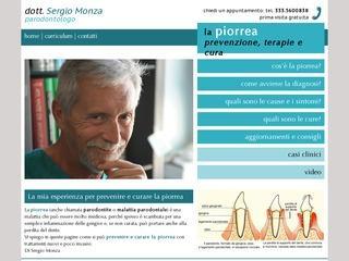 Sergio Monza parodontologo - cura piorrea
