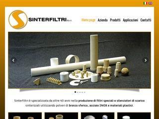 Filtri speciali e silenziatori di scarico sinterizzati – Sinterfiltri