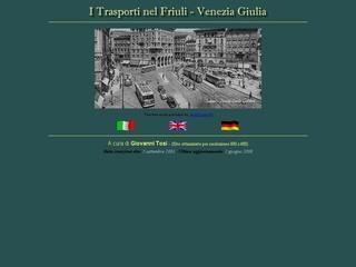 I tram del Friuli Venezia Giulia
