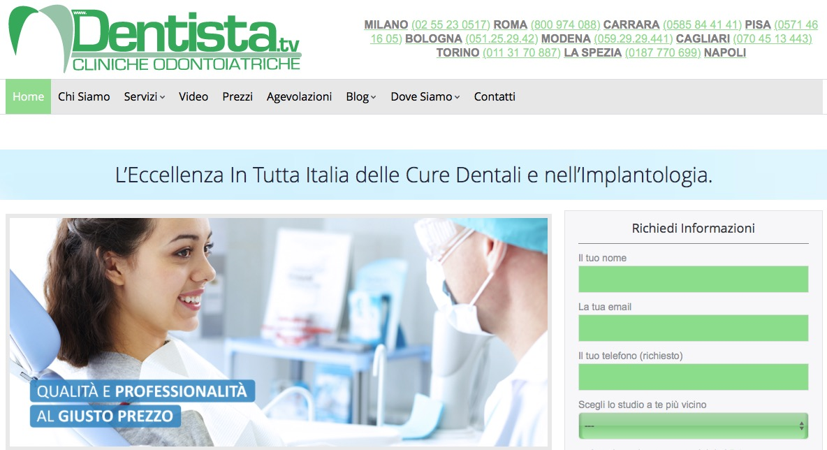 Cliniche Dentistiche Low Cost ed Interventi Odontoiatrici - Dentista.TV