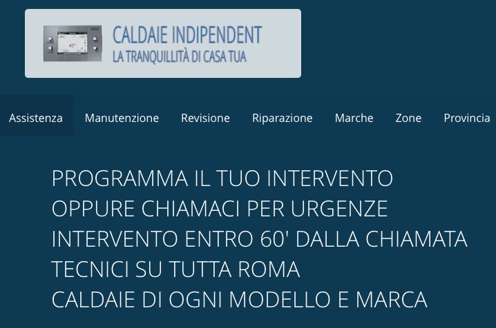 Assistenza caldaie indipendent Roma