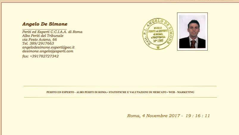 dott. De Simone - CTU, Consulente, Perito Esperto