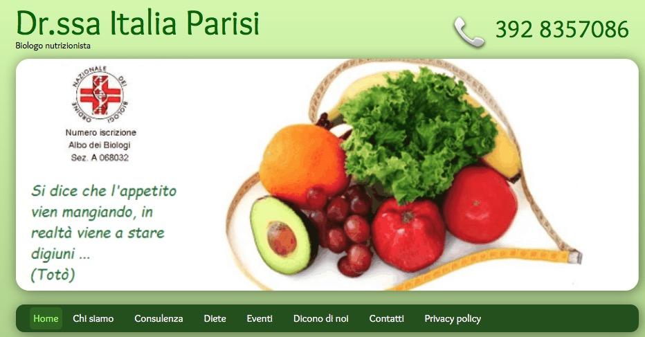 Dimmi come mangi - Biologa nutrizionista Italia Parisi